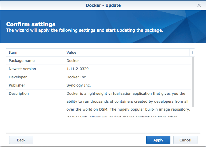 How to install Docker on an unsupported Synology NAS